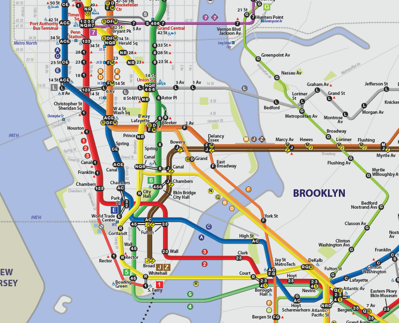 Art of Jared - subway map